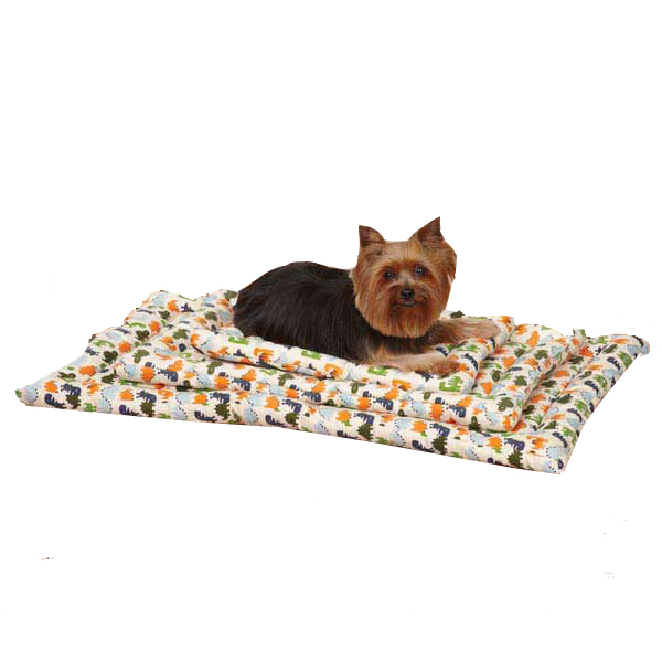 Slumber Pet Dino Dog Canvas Crate Mat