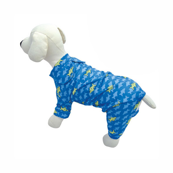 Smiley Shark Dog Pajamas by Klippo