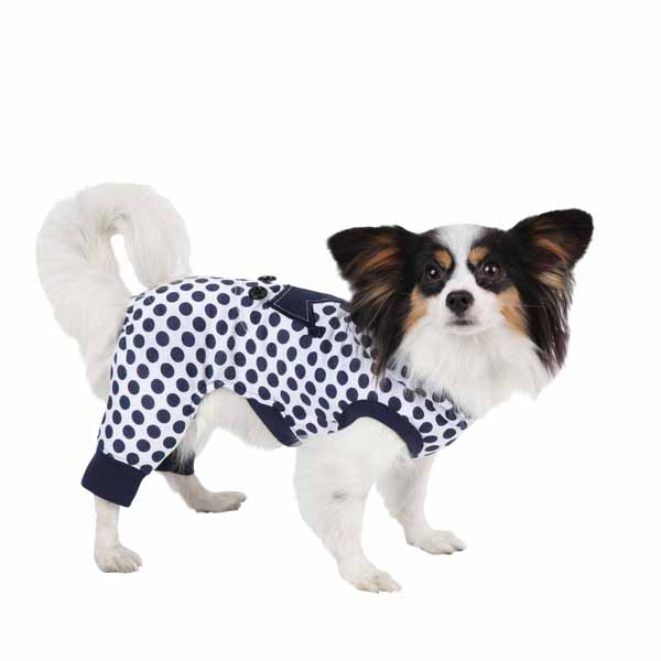 Smirky Dog Jammies by Pinkaholic - Navy