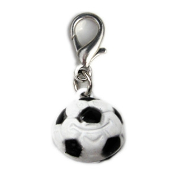 Soccer Ball Dog Collar Charm