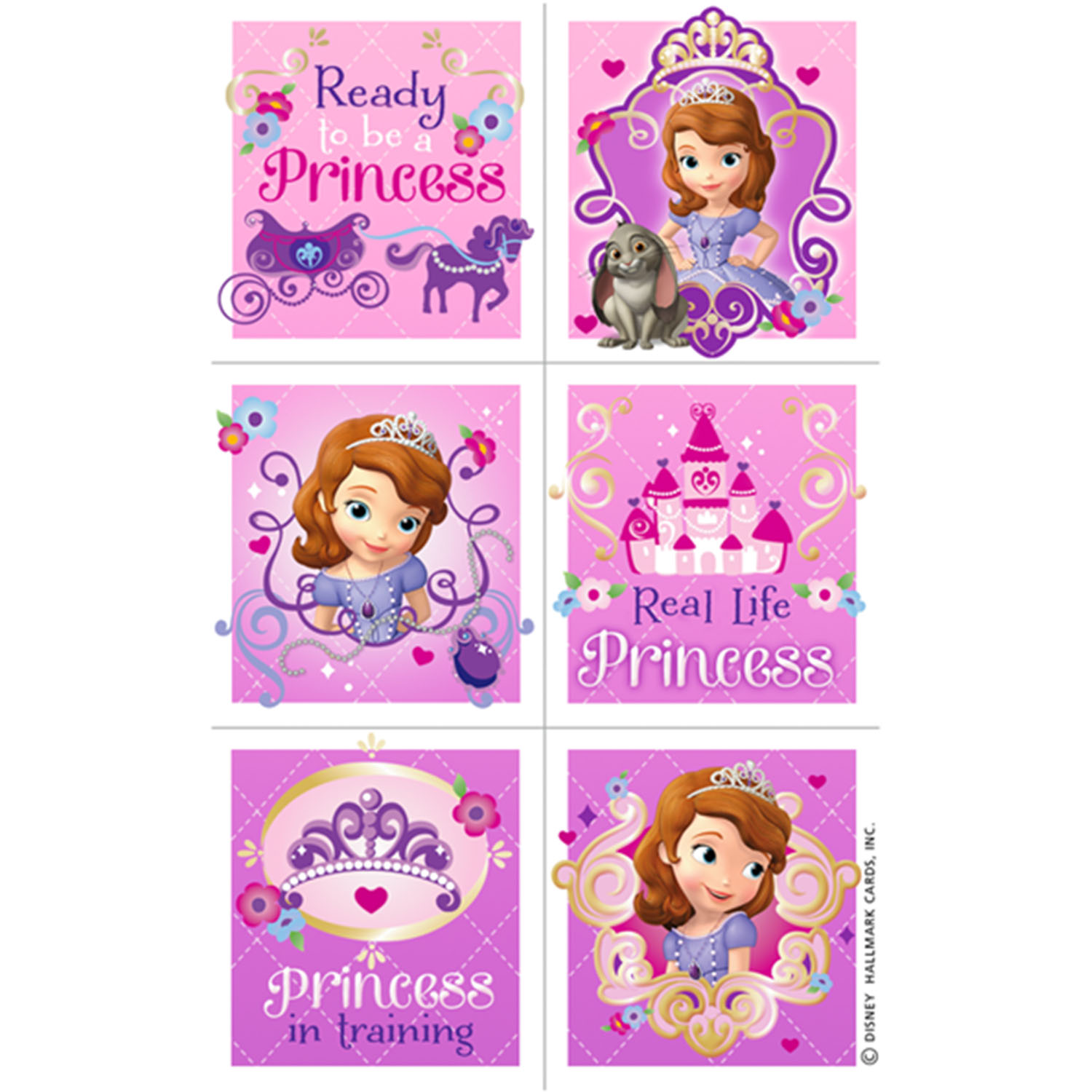 Sofia The First Party Supplies   Reward Stickers At ToyStop