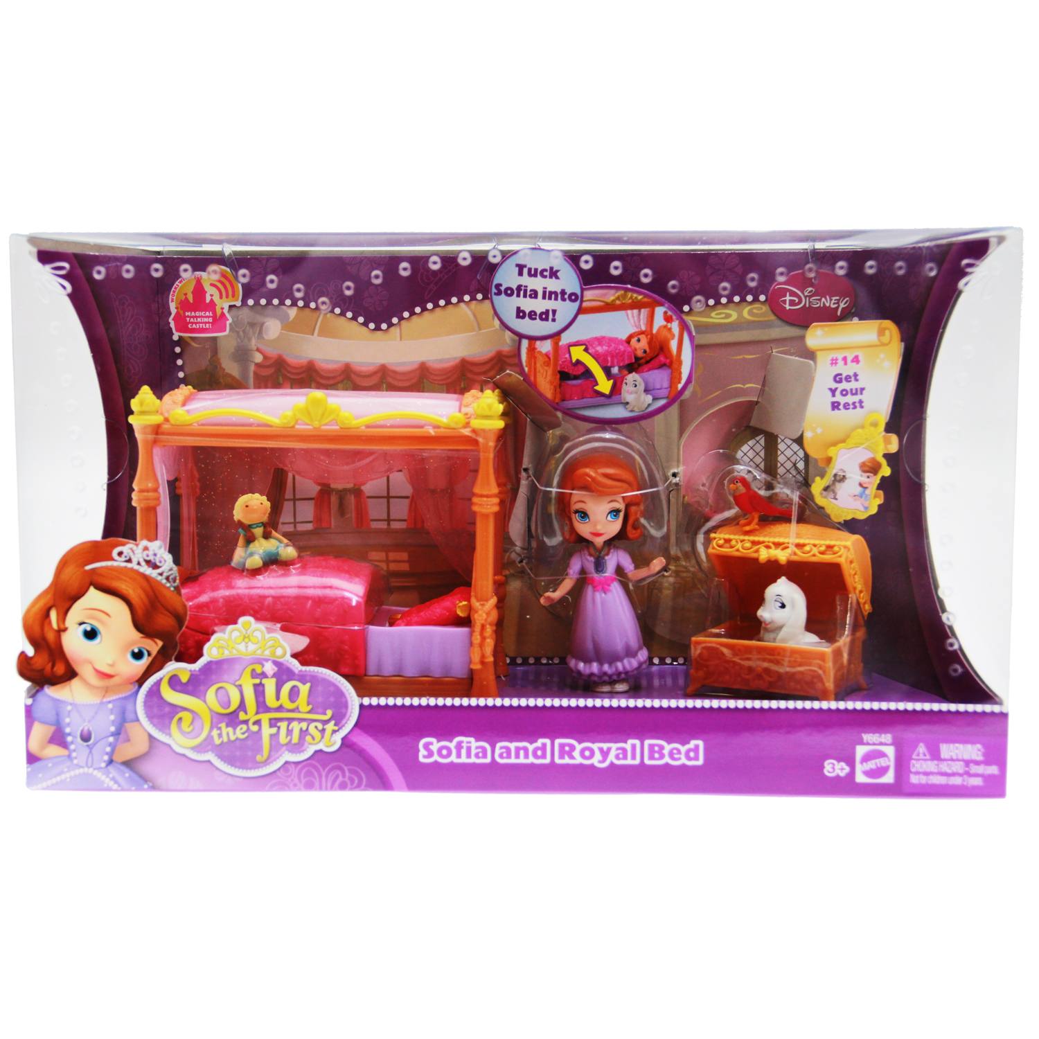 Exceptionnel Sofia The First Toys   Royal Bed Playset At ToyStop