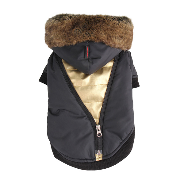 Soothing Dog Coat by Puppia - Black