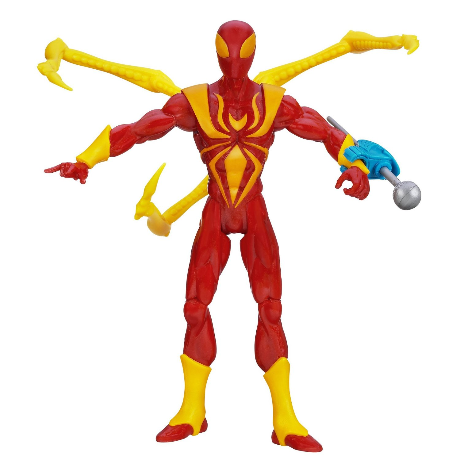 Spider Man Action Figures Ultimate Nano Claw Spider Man