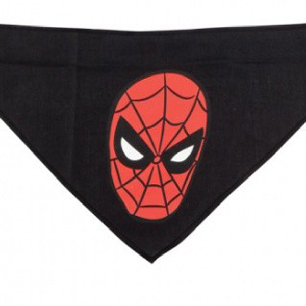 Spider-Man Dog Bandana - Black