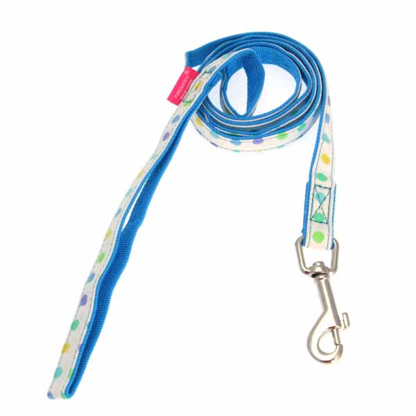 Sprinkles Dog Leash by Pinkaholic - Blue