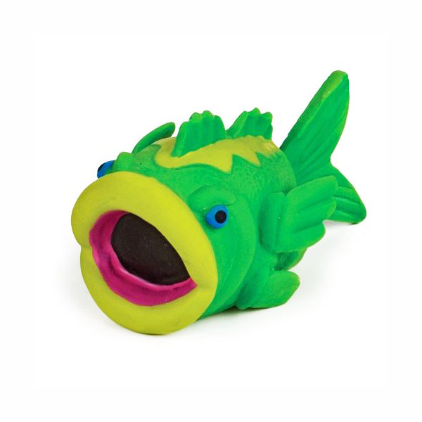 Squeeze Meeze Bass Dog Toy