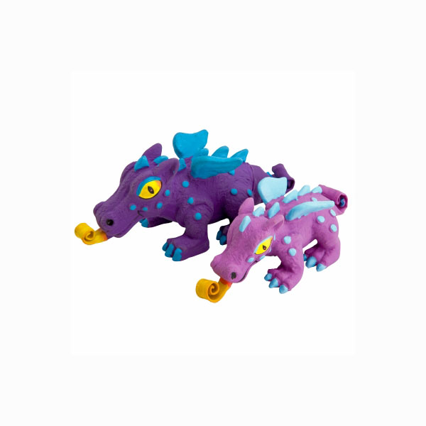 Squeeze Meeze Dragon Dog Toy