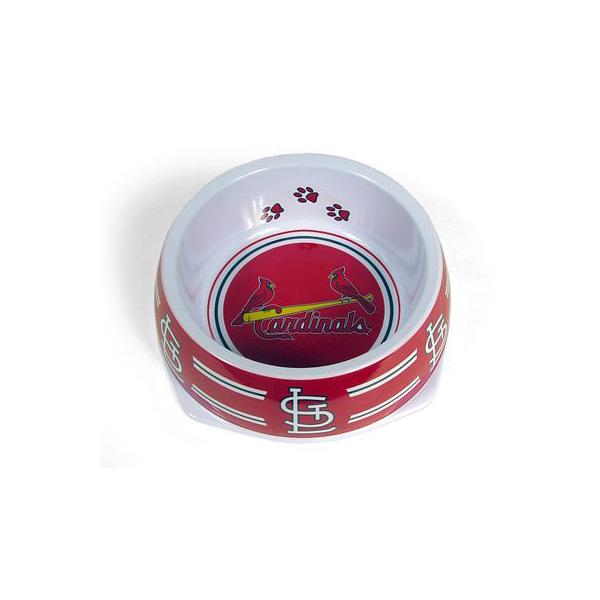 St. Louis Cardinals Plastic Dog Bowl