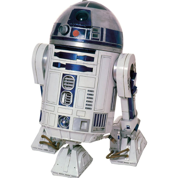 Star Wars Bedroom Decor - Classic R2D2 Giant Wall Decal at ToyStop