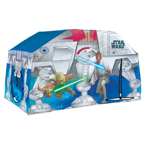 sc 1 st  ToyStop & Star Wars Play Tent - Bed Topper at ToyStop