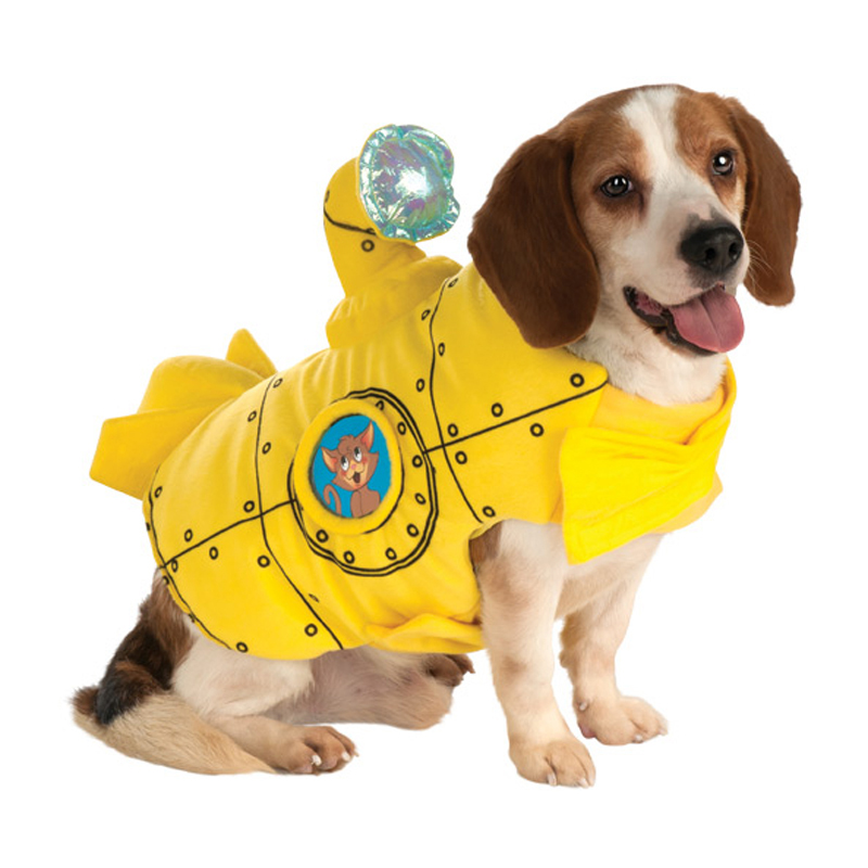 Submarine Dog Jacket Costume
