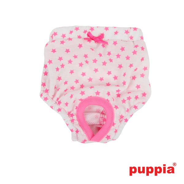 Taffy Dog Sanitary Panty by Puppia - Pink