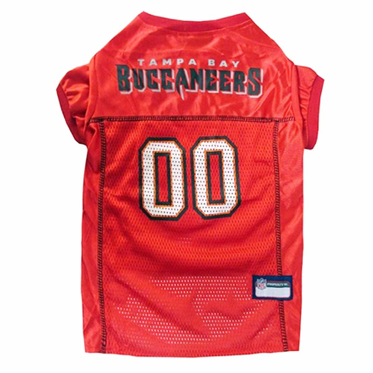 Tampa Bay Buccaneers Officially Licensed Dog Jersey