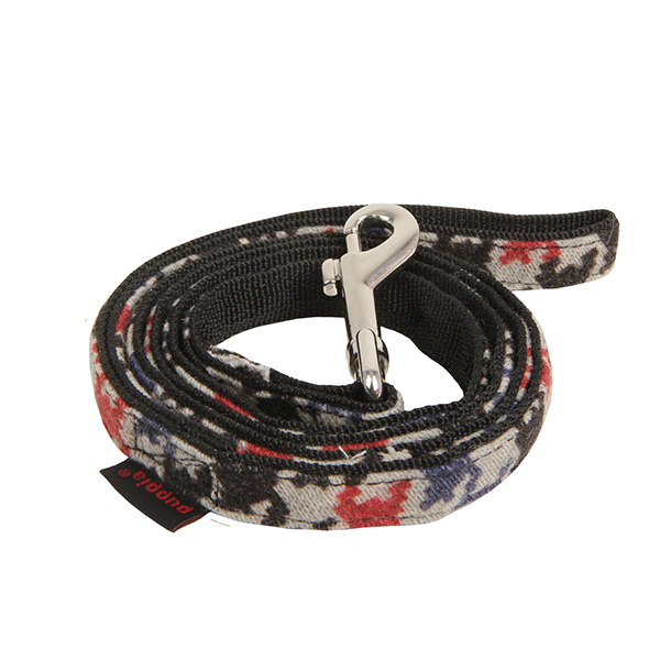 Tessell Dog Leash by Puppia - Black