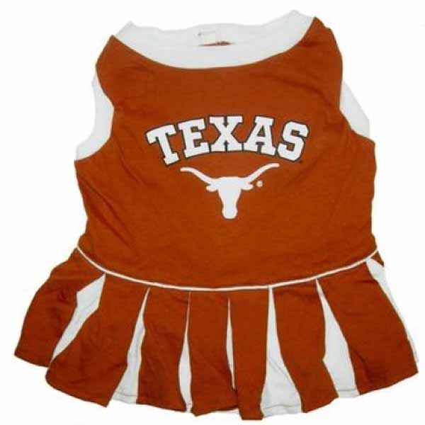 Texas Longhorns Cheerleader Dog Dress