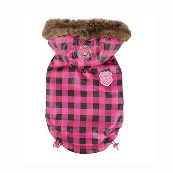 TGIF Hooded Winter Vest by Puppia - Pink