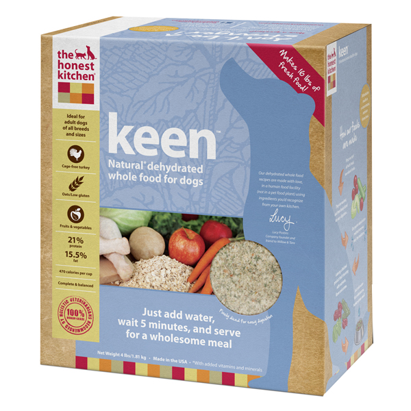 The Honest Kitchen's Keen Organic Dehydrated Dog Food