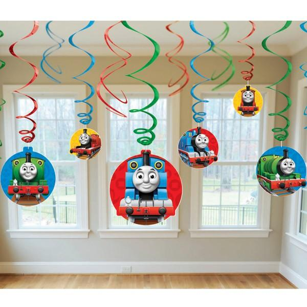 Thomas & Friends Birthday Party Supplies - Swirl Decorations at ToyStop