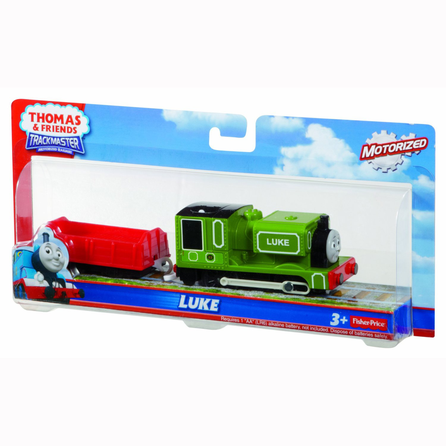 sc 1 st  ToyStop & Thomas and Friends™ TrackMaster™ Trains - Motorized Luke at ToyStop