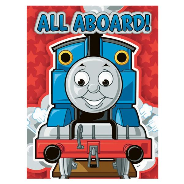 Thomas the Train Birthday Party Supplies Party Invitations at ToyStop