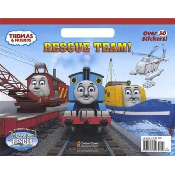 Thomas the Train Books - Rescue Team Giant Coloring Book at ToyStop