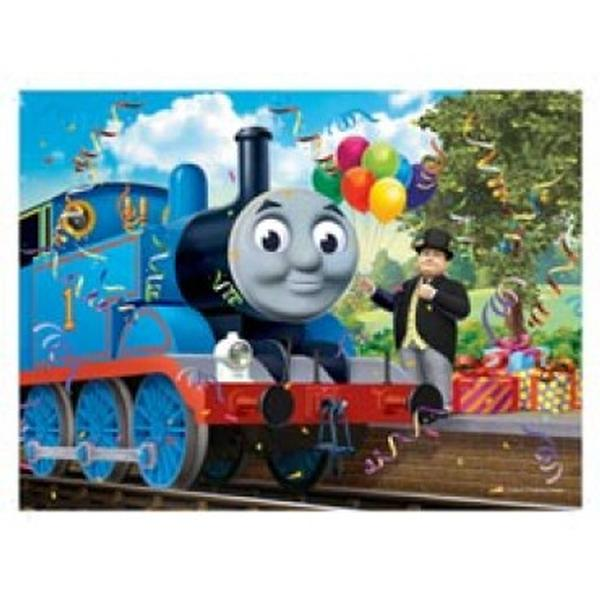 Thomas The Train Puzzles Birthday Surprise 24pc Floor