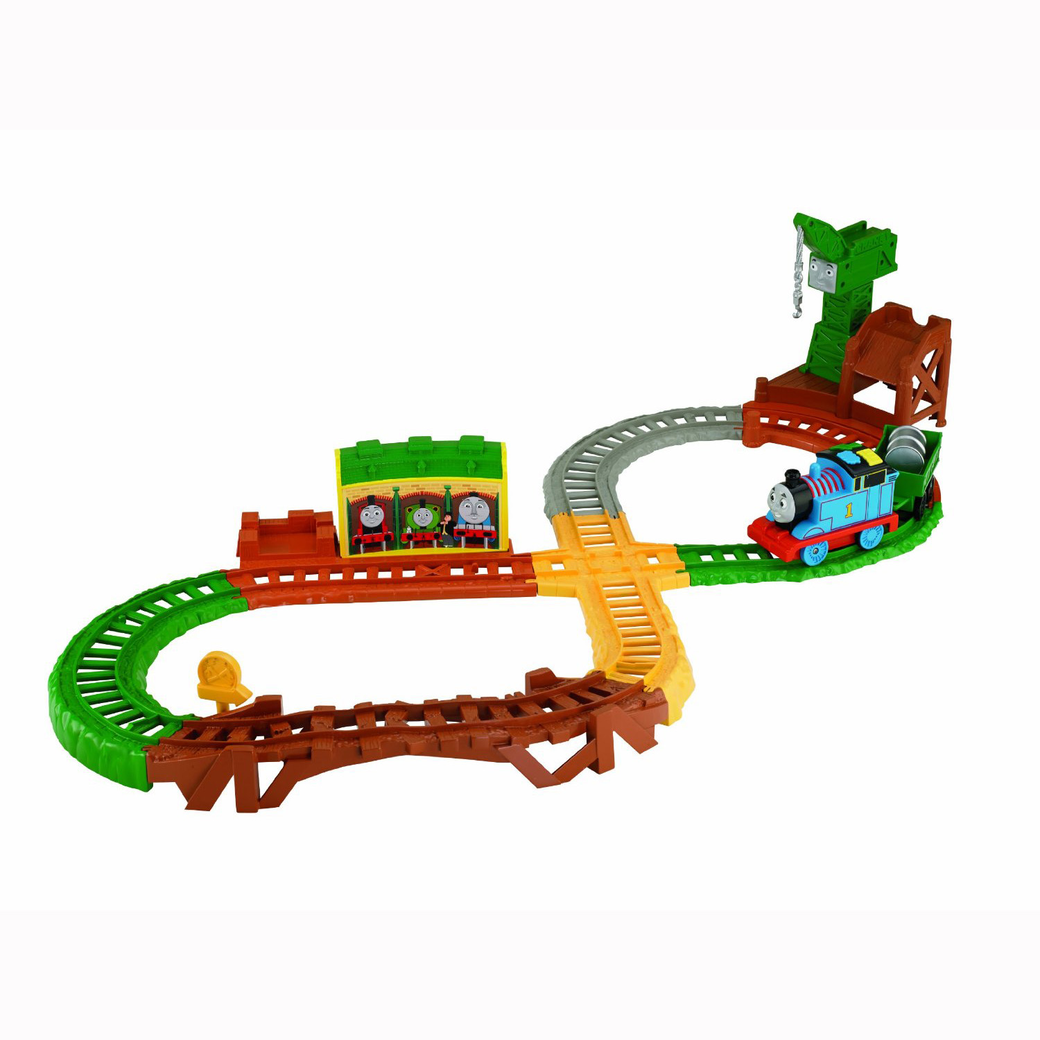 Toy Train Graphics : Thomas the train toys around track with play
