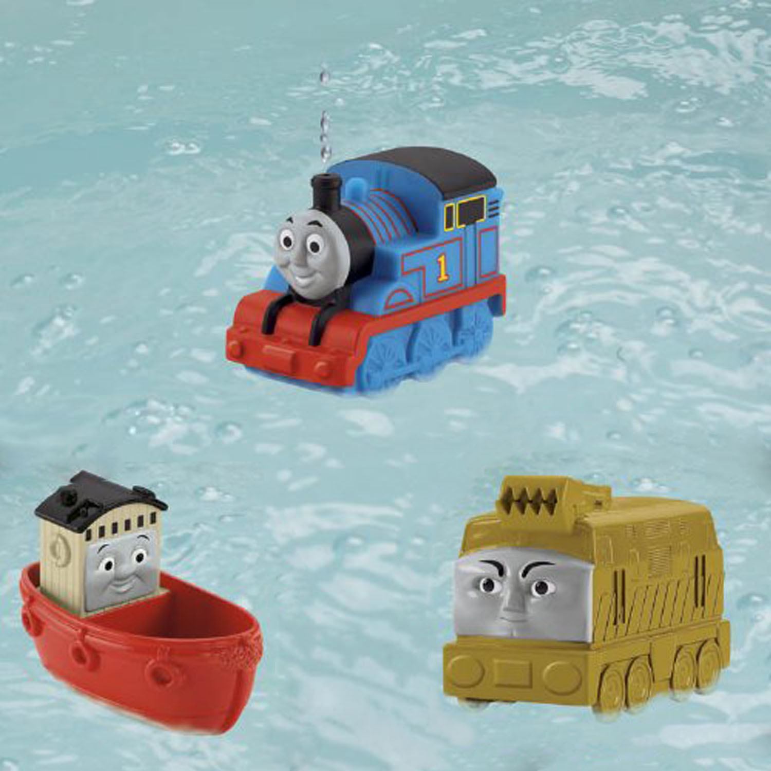 Thomas the Train Toys - Bathtub Buddies 3-Pack at ToyStop
