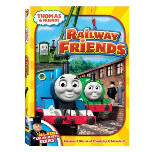 Thomas the Train Videos - Railway Friends DVD at ToyStop