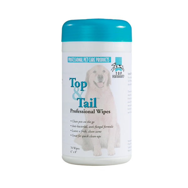 Top Performance Top and Tail Wipes for Dogs
