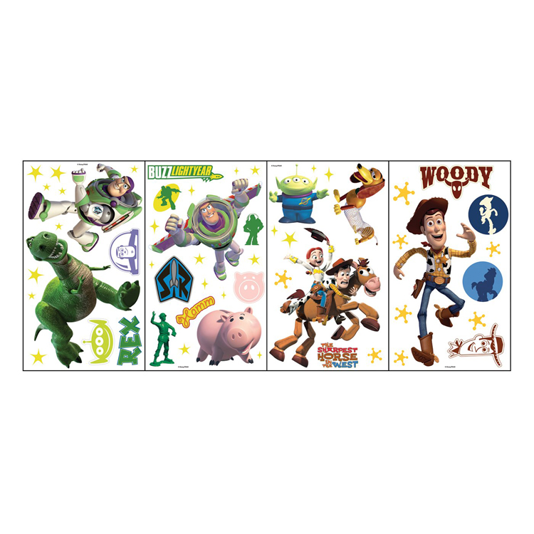 Toy Story Bedroom Decor   Glow In The Dark Toy Story Wall Stickers At  ToyStop Part 35