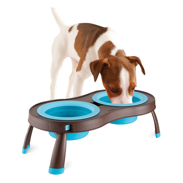Traveling Pet Feeder by Popware - Blue