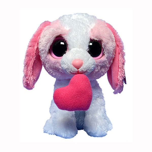 bd587c31810 Ty Beanie Boos - Cookie the Pink Dog with Heart at ToyStop