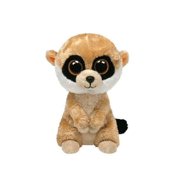 31395e02696 Ty Beanie Boos - Rebel the Meerkat at ToyStop