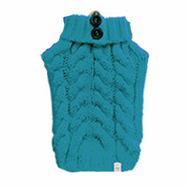Urban Knit Dog Sweater - Teal