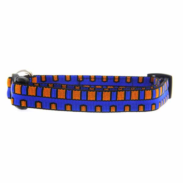 Utility Clip Dog Collar - Piano Keys