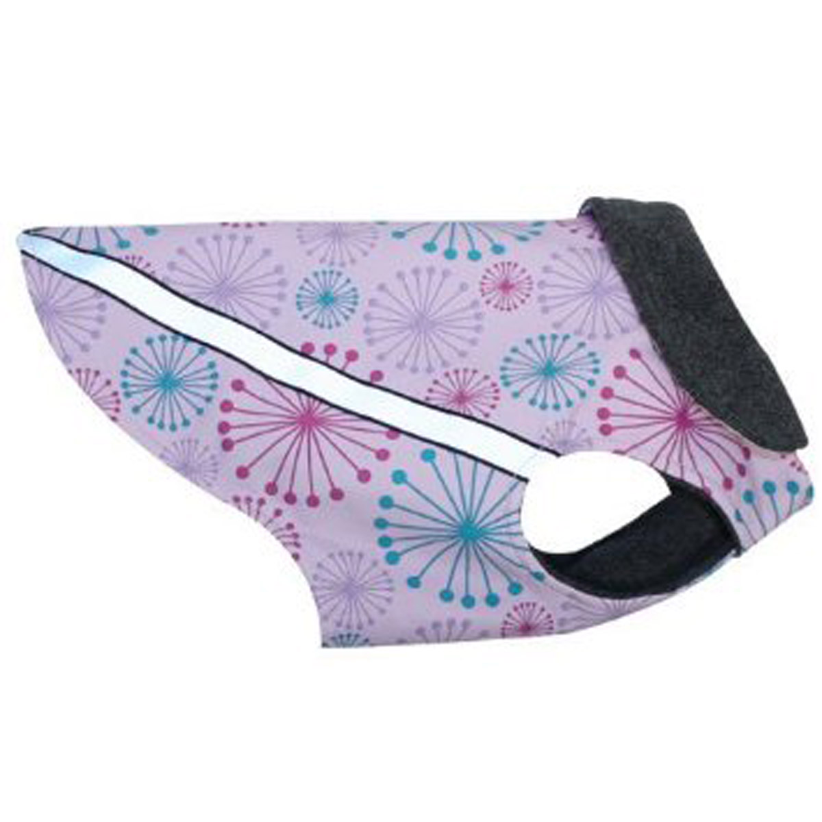 West Coast Dog Rainwear Dandelion Print