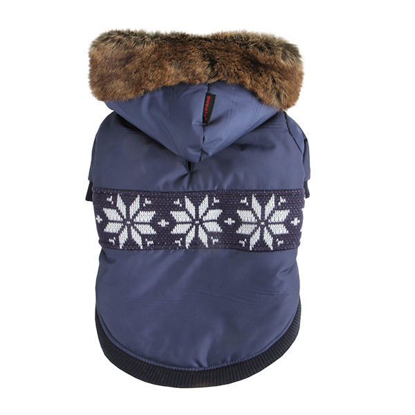 Wonderland Dog Coat by Puppia - Navy