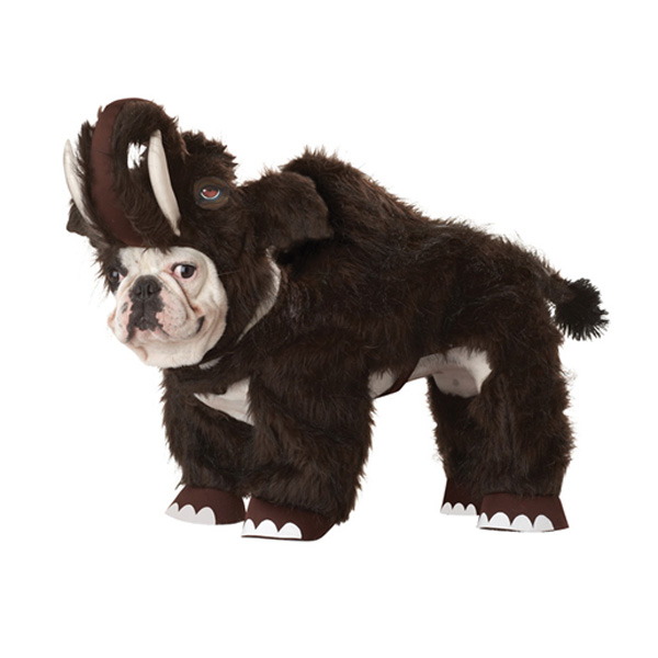 Woolly Mammoth Dog Costume