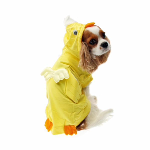 Yellow Chicken Dog Costume