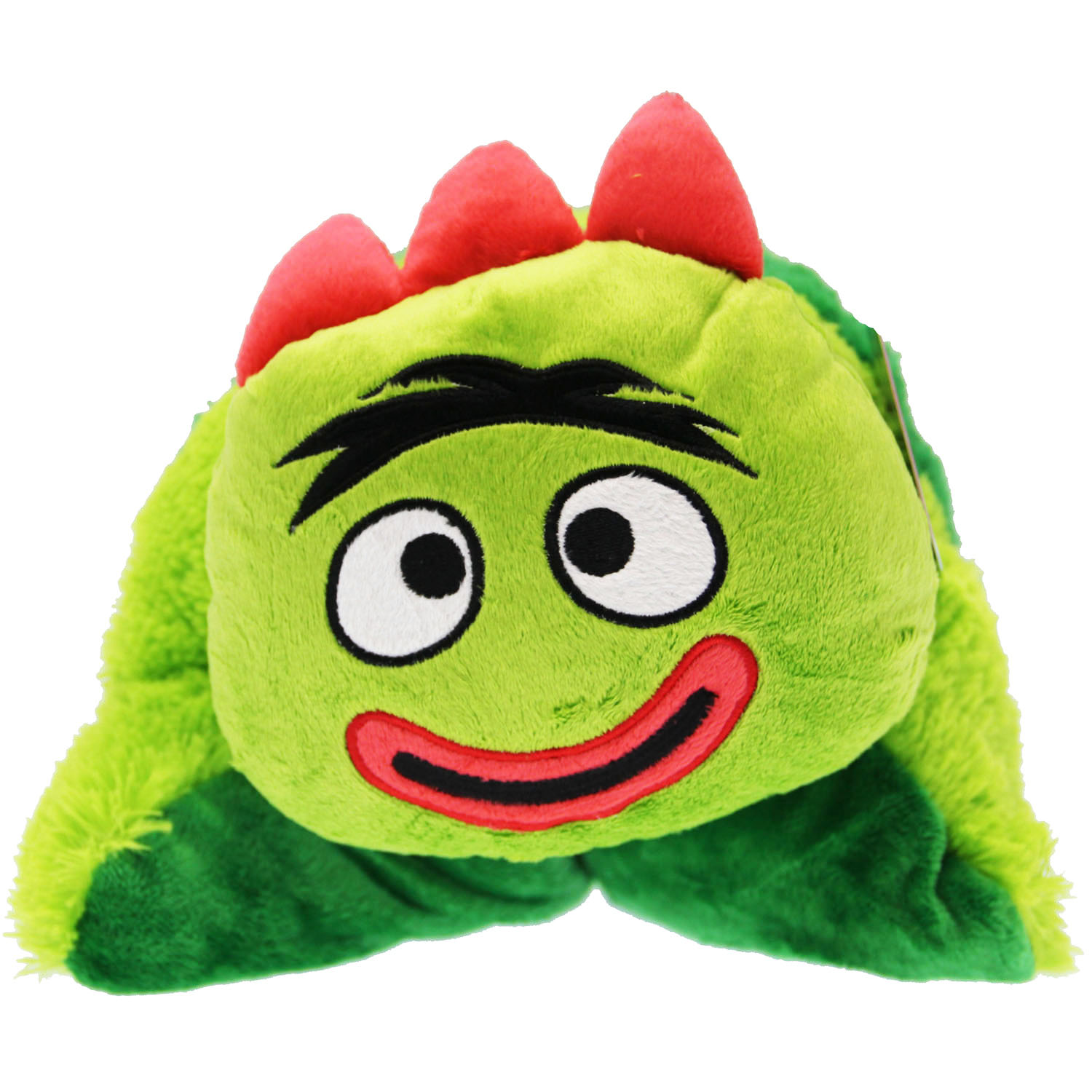 yo gabba gabba bedding brobee huggie pillow at toystop