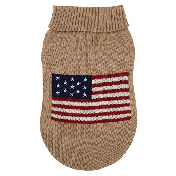 Zack & Zoey Americana Dog Sweater