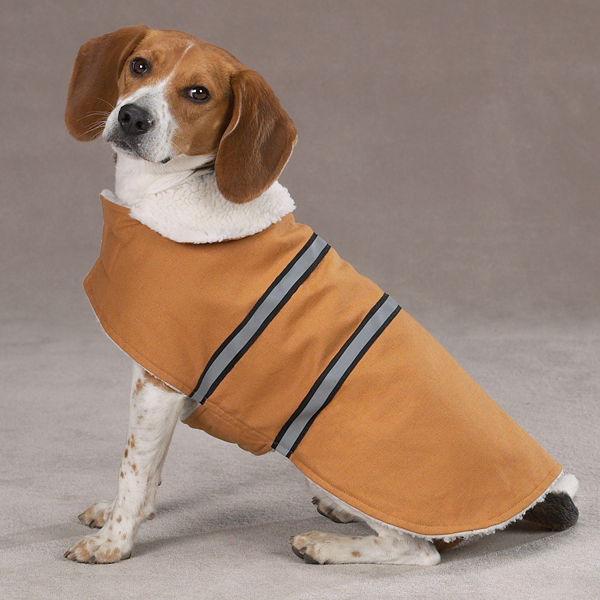 Zack & Zoey Cotton Duck Ranch Dog Coat