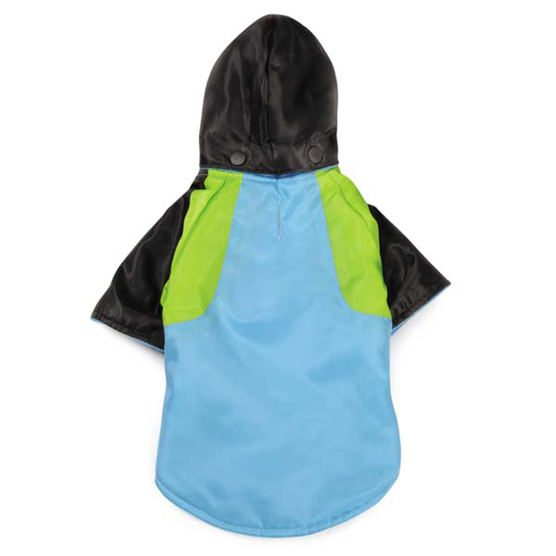Fluoro Dog Parka - Blue