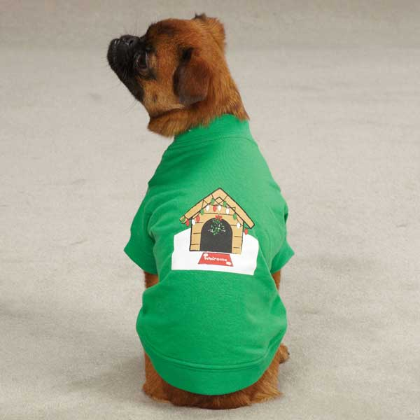 Zack & Zoey Holiday Dog House T-Shirt