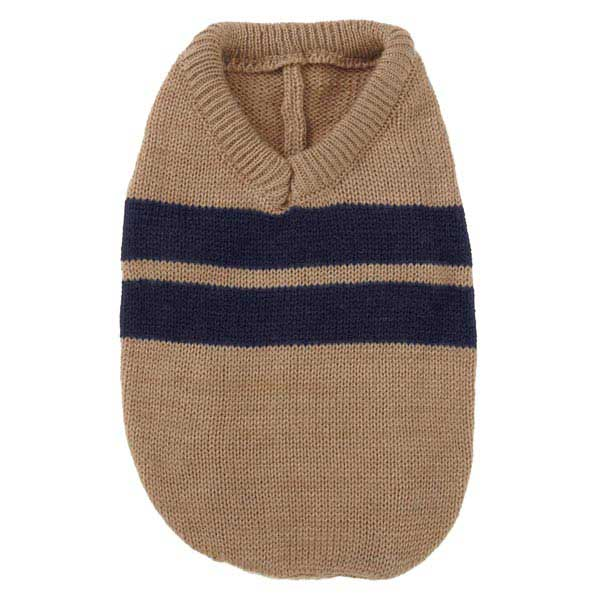 Zack & Zoey Ivy League Dog Sweater - Camel