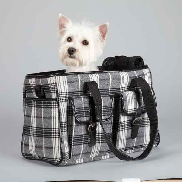 Zack & Zoey Park Avenue Pet Carrier