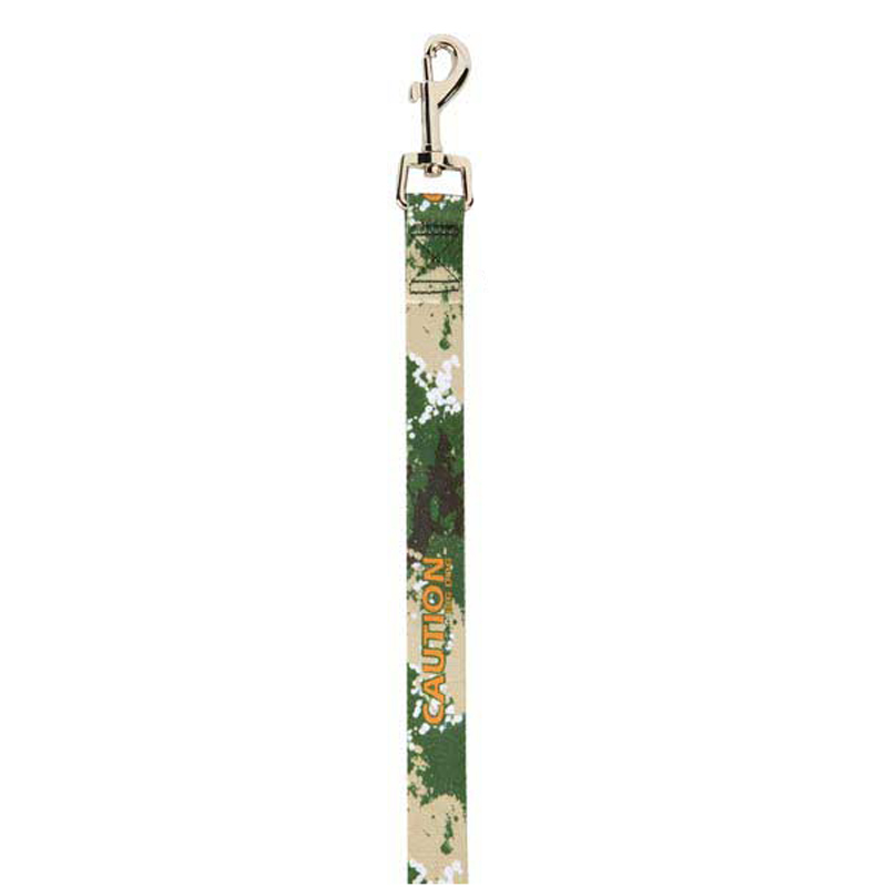 Splatter Charged Dog Leash - Green