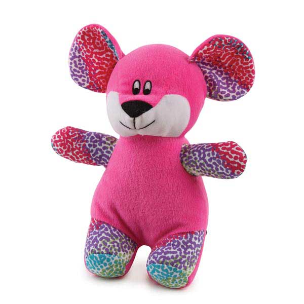 Zanies Confetti Collection Dog Toy - Mouse